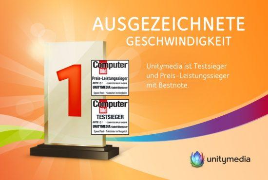 Unitymedia - Testsieger bei Computer-Bild